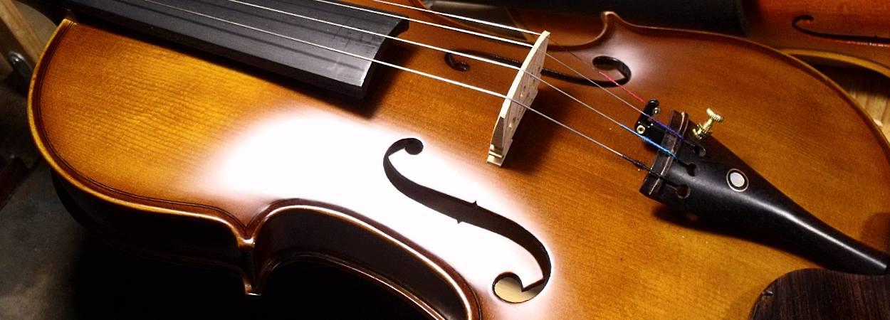 Banner violon legato