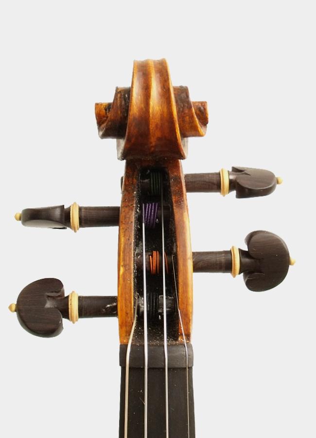 Violon Baillot étude entier Conservatoire acoustique 4 4