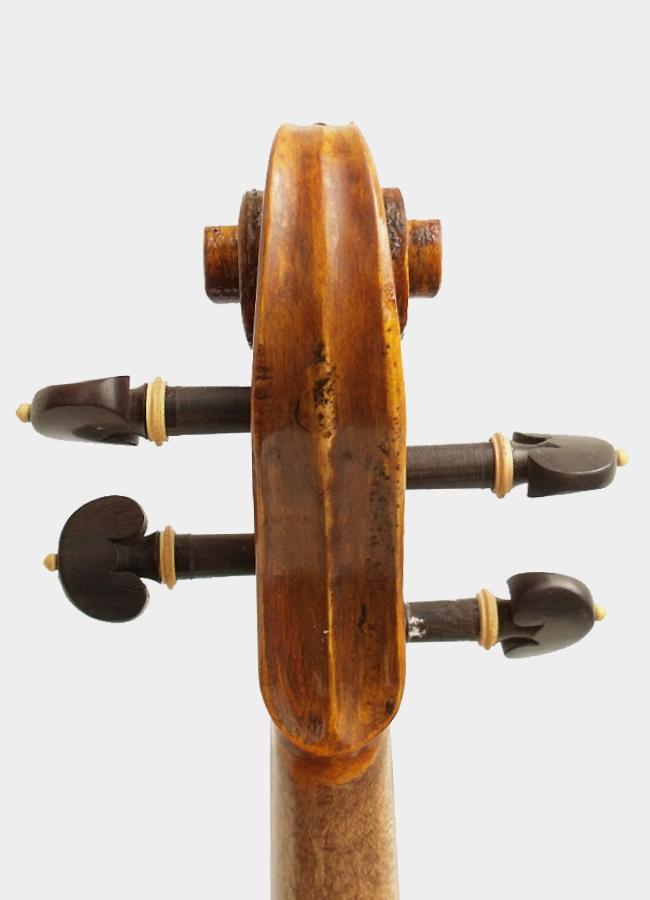 Violon Baillot étude entier Conservatoire acoustique